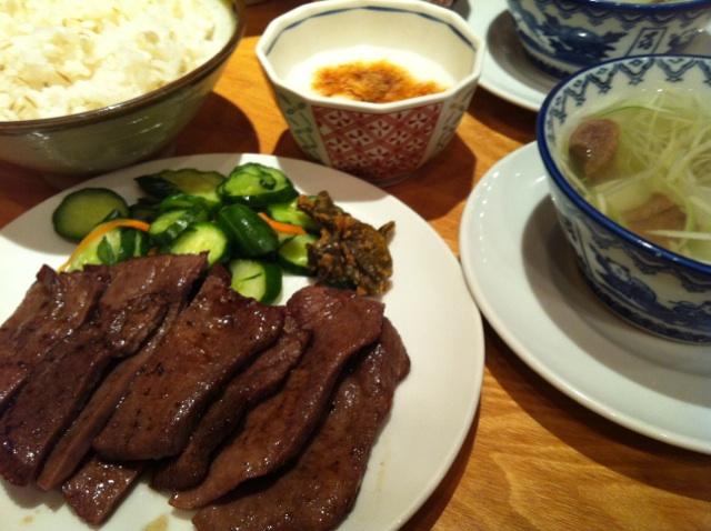 牛タン定食 喜助IMG_2763
