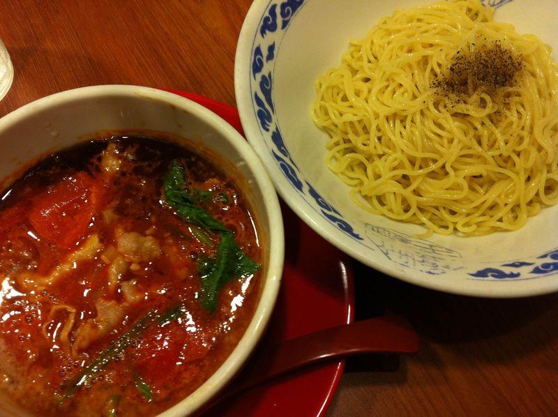 トマトつけ麺photo
