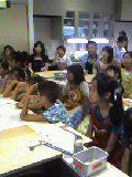 親子手作りパン教室