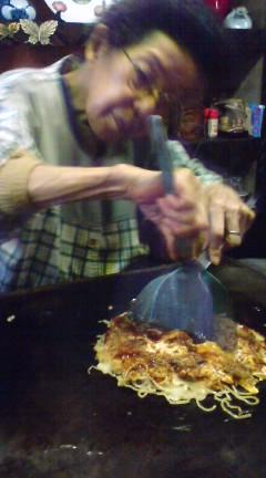 尾道粉もん探訪2  肉玉そばのお好み焼き